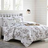 Modern Threads 5-Piece Jacquard Comforter Set with Coordinating Pillows