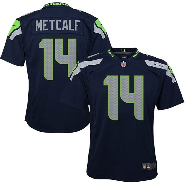 Youth Nike Dk Metcalf College Navy Seattle Seahawks Game Jersey