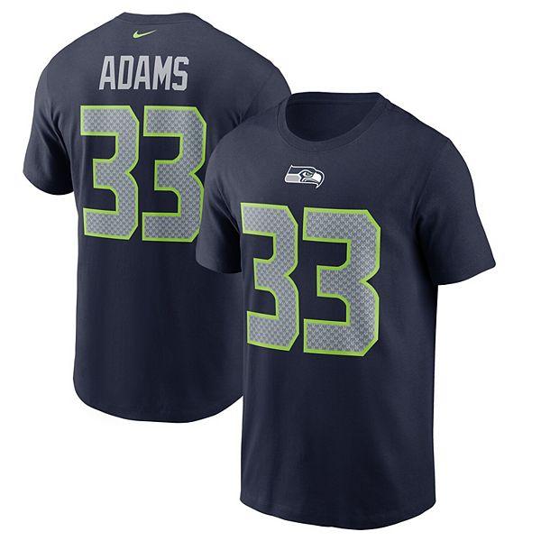Men S Nike Jamal Adams Navy Seattle Seahawks Name Number T Shirt
