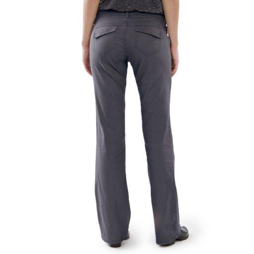 Juniors' Unionbay School Uniform Heather Bootcut Pants