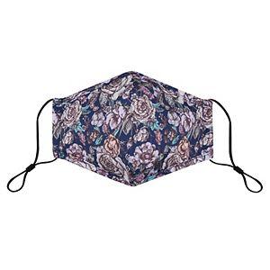 Adult Bespoke Floral Print Washable Cloth Face Mask