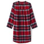 Toddler Girl Lands' End Flannel Nightgown