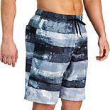Men's Under Armour Striped Swim Shorts