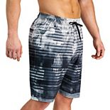 Men's Under Armour Scribble Striped Swim Shorts