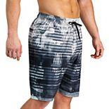 Men's Under Armour Scribble Striped Swim Shorts