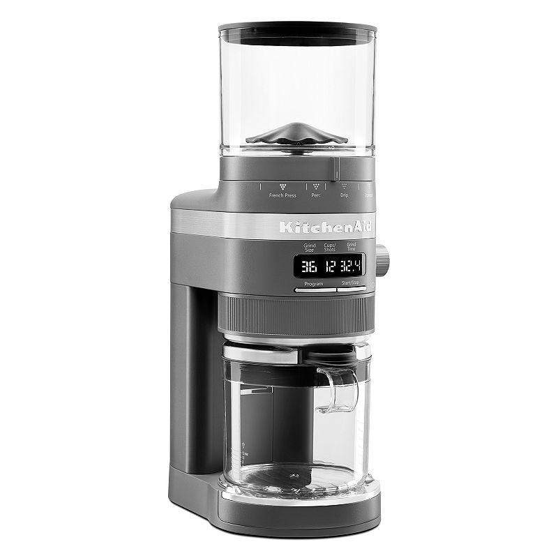 KitchenAid KCG0702 Coffee Burr Grinder, Dark Grey