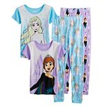 Disney's Frozen 2 Girls 4-8 Better Together 4-Piece Pajama Set