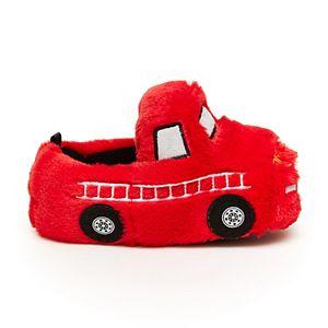 Carter's Orion Firetruck Toddler Boys' Slippers