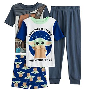 Disney's The Mandalorian Boys 6-12 Baby Yoda Pajama Set