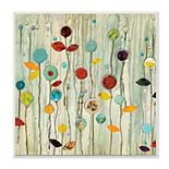 Stupell Home Decor Abstract Floral Plaque Wall Art