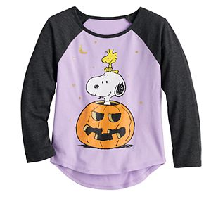 "Toddler Girl Jumping Beans® Peanuts Snoopy ""Peek-a-Boo"" Halloween Tee"