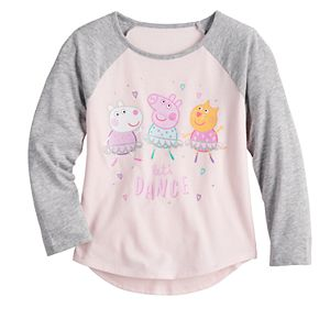 """Toddler Girl Jumping Beans® Peppa Pig """"Let's Dance"""" Graphic Tee"""