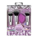 Real Techniques Sparkle On The Go 4-Piece Brush Set