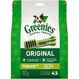 Greenies Original Teenie Natural Dental Dog Treats - 12-oz. Pack (43 Treats)