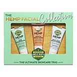 Uncle Bud's The Hemp Facial Collection Ultimate Skincare Trio Gift Set