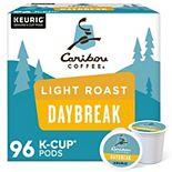 Caribou Coffee Daybreak Blend, Keurig® K-Cup® Pods, Light Roast, 96 Count