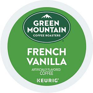 Green Mountain Coffee Roasters French Vanilla Coffee, Keurig® K-Cup® Pods, Medium Roast, 96 Count