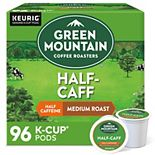 Green Mountain Coffee Roasters Half Caff Coffee, Keurig® K-Cup® Pods, Medium Roast, 96 Count