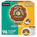 The Original Donut Shop Coconut Mocha Coffee, Keurig® K-Cup® Pods, Medium Roast, 96 Count