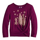 Disney's Frozen Girls 4-12 Cozy Knit Top by Jumping Beans®