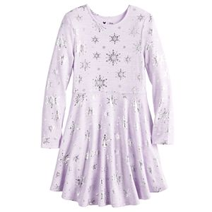 Disney's Frozen Toddler Girl Snowflake Dress by Jumping Beans
