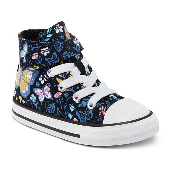 Baby / Toddler Girls' Converse Chuck Taylor All Star 1V Butterfly Forest High-Top Sneakers
