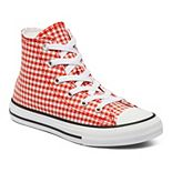 Girls' Converse Chuck Taylor All Star Gingham High-Top Sneakers