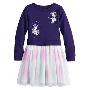 Disney's Frozen Toddler Girl Sweatshirt Tulle Dress by Jumping Beans®