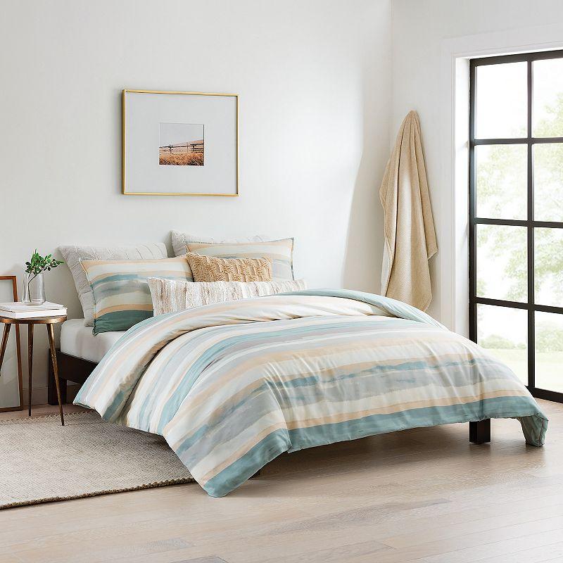 Koolaburra by UGG Quinlynn Comforter Set with Shams. Blue. Twin