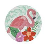 Celebrate Summer Together Tropical Flamingo Placemat