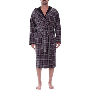 Big & Tall Residence Sueded Fleece Hooded Robe