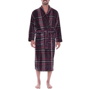 Big & Tall Residence Plush Fleece Shawl-Collar Robe