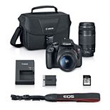 Canon EOS REBEL T7 18-55mm + 75-300mm 2019 DSLR Camera