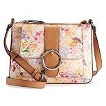 Dana Buchman® Violet Crossbody Bag - Floral Print