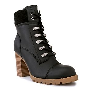 sugar Rory Women's High Heel Ankle Boots