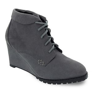 sugar Kennie Women's Wedge Ankle Boots