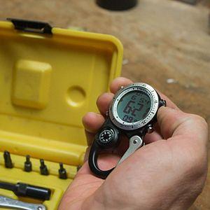 Dakota Digi Clip Carabiner Clip Watch