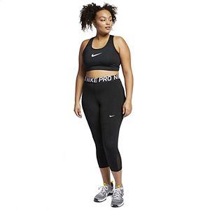 Plus Size Nike Dri-FIT Swoosh Medium-Support Non-Padded Sports Bra