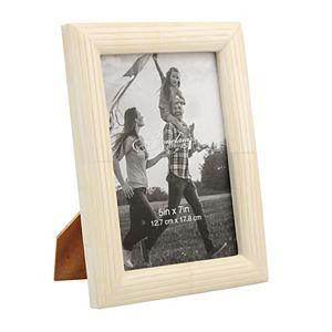 Stonebriar Collection Ivory Bone Photo Frame Table Decor