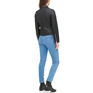 Women's Levi's® Faux Leather Front Zip Updated Motorcycle Jacket