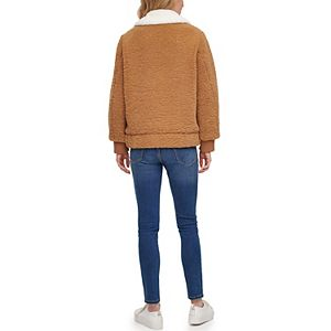 Women's Levi's® Faux-Fur Collar Sherpa Bomber Jacket