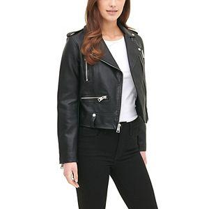 Women's Levi's® Classic Faux Leather Asymmetrical Motorcycle Jacket