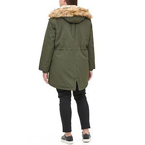 Plus Size Levi's® Arctic Cloth Fishtail Parka Jacket