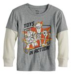 Disney's Toy Story Boys 4-12 Layered Skater Tee by Jumping Beans®