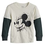 Disney's Mickey Mouse Toddler Boy Adaptive Double-Layer Skater Tee by Jumping Beans®