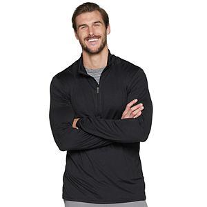 Big & Tall Tek Gear Brushed Stretch Jersey Pullover
