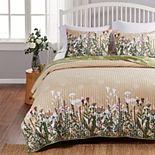 Barefoot Bungalow Dandelion Quilt Set with Shams