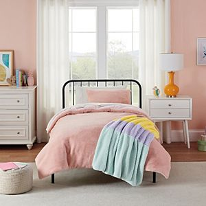 Koolaburra by UGG Kids Karina Faux Fur Comforter Set with Shams