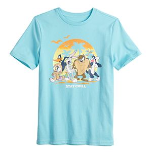 Family Fun? Boys 4-20 Looney Tunes Chill Graphic Tee