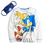 Boys 8-20 Sonic the Hedgehog & Tails Graphic Tee with Face Mask